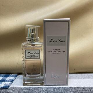 クリスチャンディオール(Christian Dior)のクリスチャンディオール ミスディオール ヘアミスト 中古(香水(女性用))