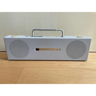 ムジルシリョウヒン(MUJI (無印良品))の無印良品CDラジオ SL-PH70R美品(ポータブルプレーヤー)