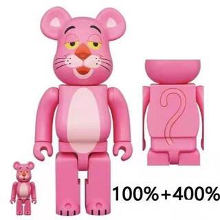 メディコムトイ(MEDICOM TOY)のBE@RBRICK PINK PANTHER 100% & 400%(人形)