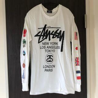 ステューシー(STUSSY)のstussy ステゥーシー ロゴ ロンT 長袖Tシャツ レア(Tシャツ/カットソー(七分/長袖))