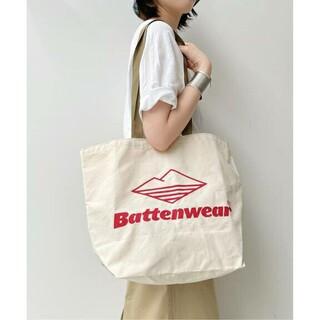 L'Appartement DEUXIEME CLASSE - L'Appartement【Battenwear/】LOGO トートバッグ