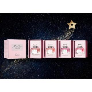 クリスチャンディオール(Christian Dior)のミスディオール ミニチュア コフレ(香水(女性用))