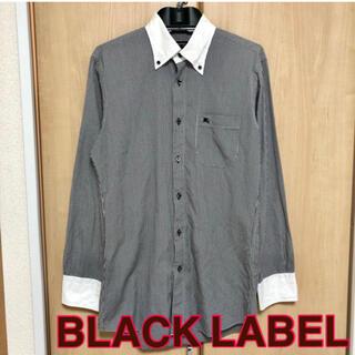 バーバリーブラックレーベル(BURBERRY BLACK LABEL)の【BURBERRY BLACK LABEL】シャツ チェック メンズ(シャツ)