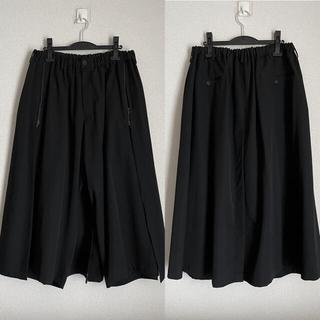 Yohji Yamamoto - 【未使用 定価10万】20-21AW ヨウジオム スカートパンツ yohji