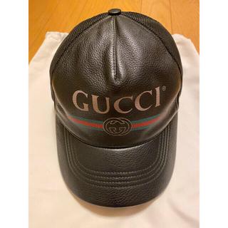 Gucci - GUCCI ヴィンテージロゴベースボールCAP S84-NM-519