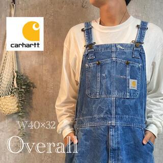 carhartt - カーハート  デニムオーバーオール 40×32 4287