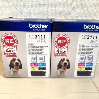 brother - LC3111-4PK 2箱セット ブラザー詰替インクカードリッジ