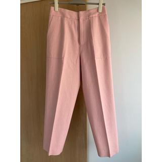 IENA ライトツイードパンツ ピンク サイズ38