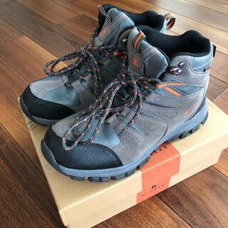 美品)2度のみ使用 トレッキングシューズ 登山靴 UK6