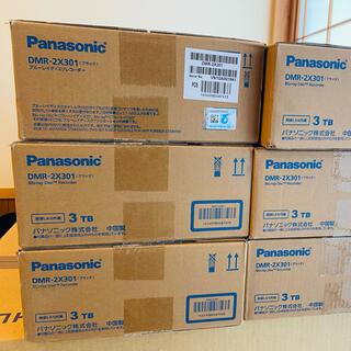 Panasonic - まとめて6台⭐︎新品未使用⭐︎  Panasonic DMR-2X301