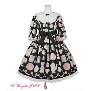 Angelic Pretty - Doll's Tea Party ワンピース 黒