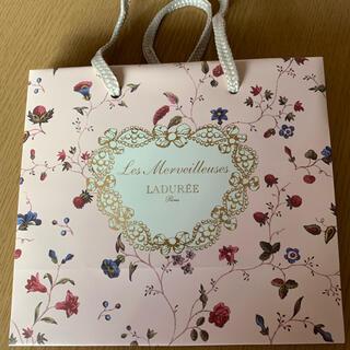 Les Merveilleuses LADUREE - ラデュレ ショッパー 紙袋 1枚