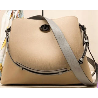 COACH - COACH☆2021新作WillowShoulderBag/Colorblock