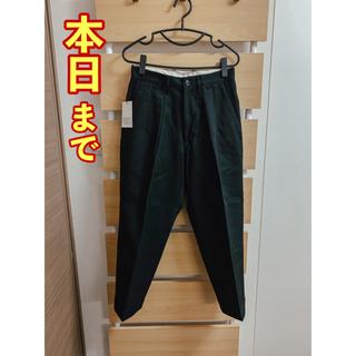 COMOLI - 9/26まで 試着のみ〈HELKA〉TROUSERS 03-A ブラック