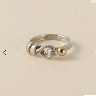 Tiffany & Co. - ティファニー シルバー ゴールドリング  指輪