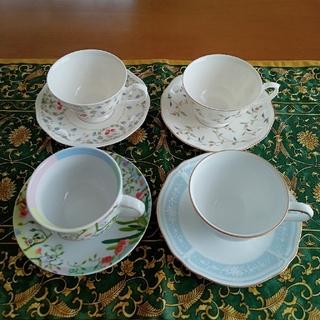 Noritake - コーヒーカップ 4客 (ノリタケ、ORIBE、他)