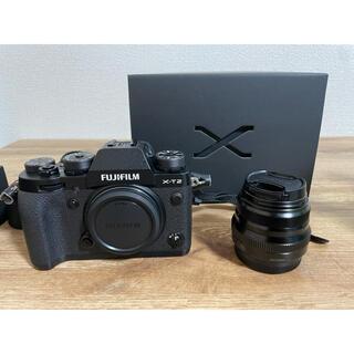 富士フイルム - 美品FUJIFILM X-T2 ボディ XF 35mm F2 R WR レンズ