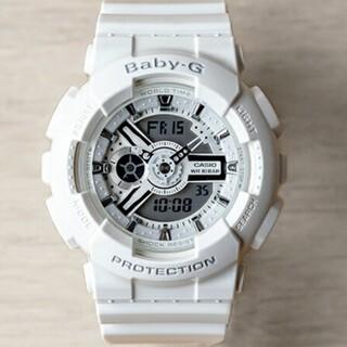Baby-G - 美品☆稼働品 カシオ ベビージー レディース腕時計 ホワイト