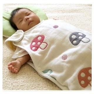 新品 ベビースリーパー きのこ ベビー 赤ちゃん 子ども  ガーゼスリーパー