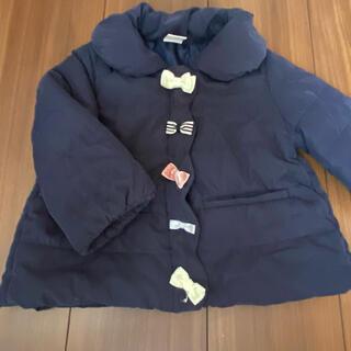 プティマイン(petit main)のプティマイン コート アウター ダウンコート リボン(ジャケット/コート)