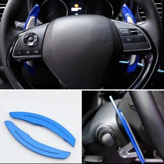 ミツビシ(三菱)の青 三菱 拡張パドルシフト アルミ合金製 アウトレット品(車内アクセサリ)