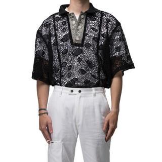 ジョンローレンスサリバン(JOHN LAWRENCE SULLIVAN)のplateau studio dong dong polo shirt(ポロシャツ)