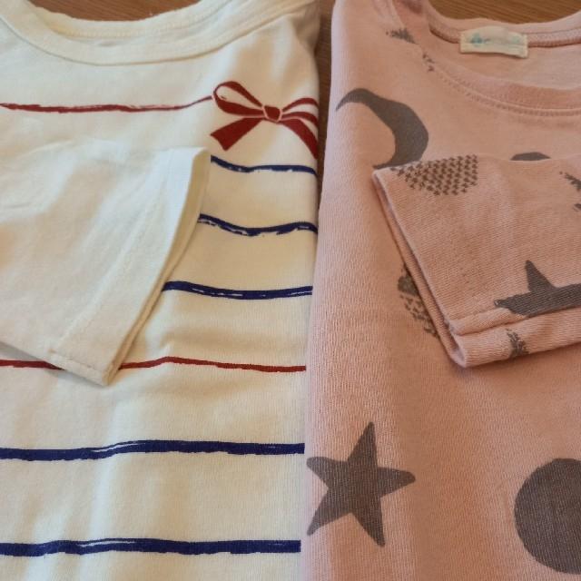 Branshes(ブランシェス)の90 女の子6点セット キッズ/ベビー/マタニティのキッズ服女の子用(90cm~)(Tシャツ/カットソー)の商品写真