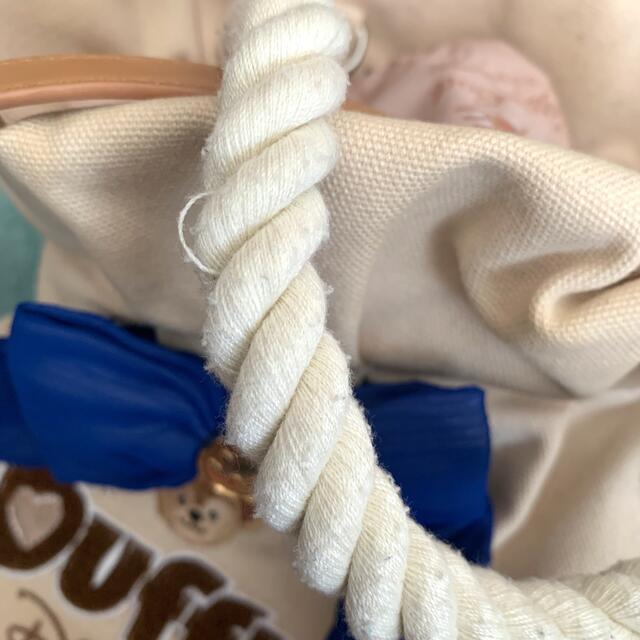 ダッフィー(ダッフィー)のダッフィー ダッフルバッグ エンタメ/ホビーのおもちゃ/ぬいぐるみ(キャラクターグッズ)の商品写真