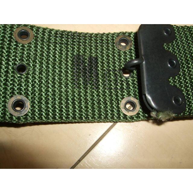 ナム戦 米軍実物  M1967ピストルベルト ナイロン M エンタメ/ホビーのミリタリー(その他)の商品写真