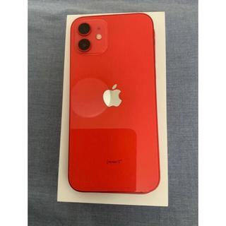 iPhone - iPhone 12 レッド 64 GB SIMフリー