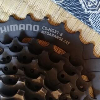 SHIMANO - カセットスプロケット シマノ ジャンク cs-hg31-8 11-34t
