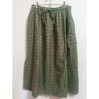 SM2 - 木の実柄 ロングスカート サマンサモスモス