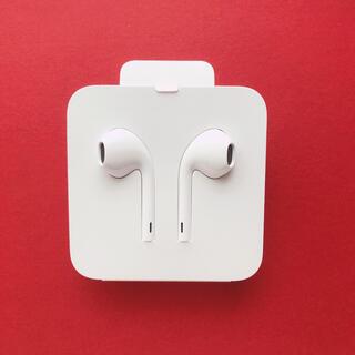 Apple - 【新品未使用】iPhoneイヤホン 純正品  Lightningイヤフォン