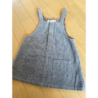 ザラキッズ(ZARA KIDS)のZARA BABY コーデュロイジャンパースカート 98cm(ワンピース)