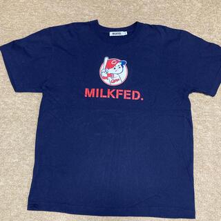 広島東洋カープ - 広島東洋カープ コラボTシャツ(MILK FED.)