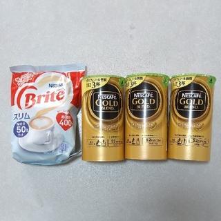 Nestle - ネスカフェ ゴールドブレンド・ブライト セット