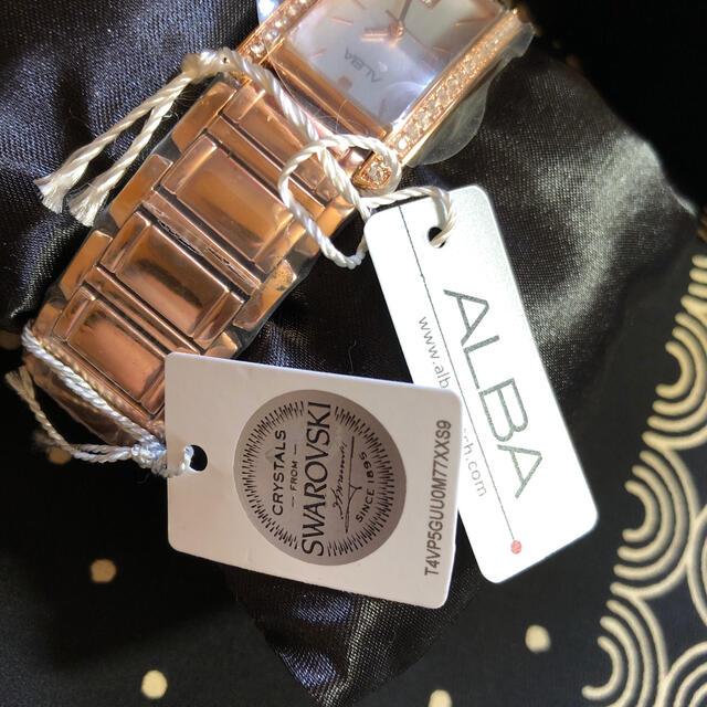 ALBA(アルバ)のALBA AH7F60X1 レディースのファッション小物(腕時計)の商品写真