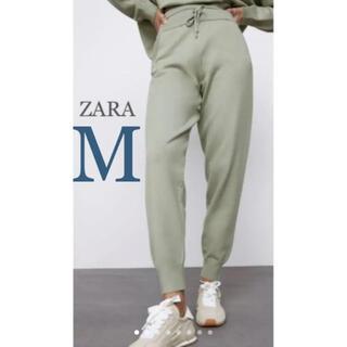 ZARA - 【新品・未使用】ZARA ニットジョガーパンツ M