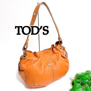 トッズ(TOD'S)のトッズ TOD'S ショルダー レザー オレンジ レディース(ショルダーバッグ)