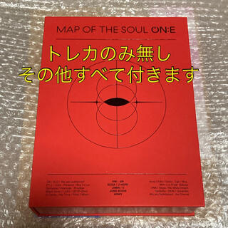 防弾少年団(BTS) - BTS MAP OF THE SOUL ON:E DVD