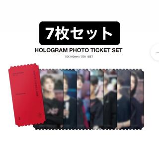 BTS トレカ DVD ONE ホログラムチケット 7枚セット 未開封