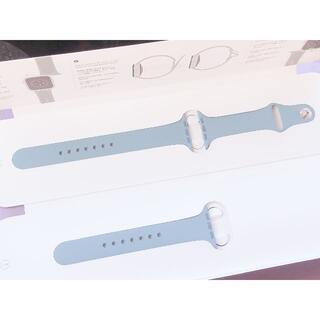 アップルウォッチ(Apple Watch)のApple watch ノーザンブルー スポーツバンド 44mm用(その他)