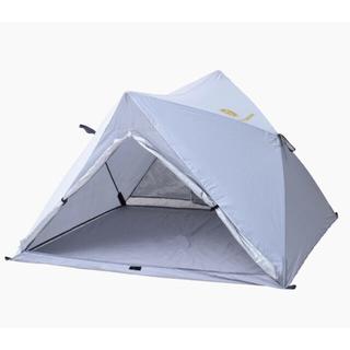 ヤマゼン(山善)の山善キャンパーズコレクション パッとサッとテント ホワイト TW-MF15UV(テント/タープ)