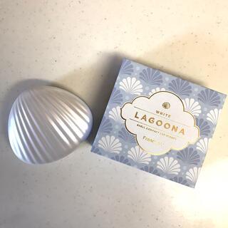 フランフラン(Francfranc)のラグーナ LED コンパクトミラー ホワイト(ミラー)