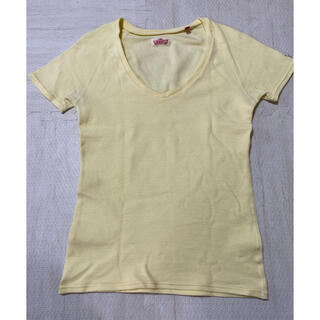 ハリウッドランチマーケット(HOLLYWOOD RANCH MARKET)のランチマーケット フライスT 美品(Tシャツ(半袖/袖なし))