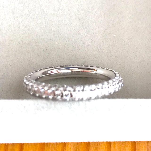 PonteVecchio(ポンテヴェキオ)の【Nak様専用】ポンテヴェキオ K18WG  ダイヤモンドフルエタニティリング レディースのアクセサリー(リング(指輪))の商品写真