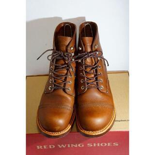 レッドウィング(REDWING)のRED WINGレッドウイング アイアンレンジャー ブーツ セッター茶915L▲(ブーツ)