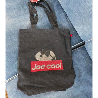 PEANUTS - 新品未使用 スヌーピー  トートバッグ Joe cool  ラインストーン