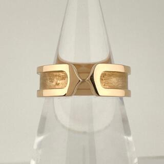 Cartier - カルティエ デザイン リング 10.5号 PG 【中古】