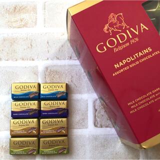 コストコ(コストコ)の♡大人気♡コストコ GODIVA ナポリタンチョコレート 8個 お試し(菓子/デザート)